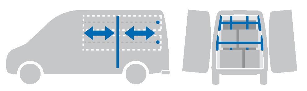 ATV   multifunktionaler Ausbau   für Kastenwagen