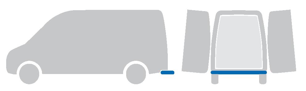 ATV   Gefederter Heckauftritt   für Kastenwagen